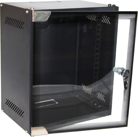 Dynamix 6RU Mini Cabinet for 10Inch Panels W280 x D310 x H392mm Supplied in a flat pack