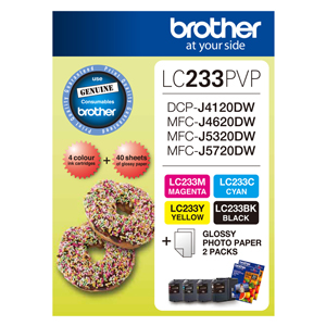 Brother LC233PVP Photo Value Pack