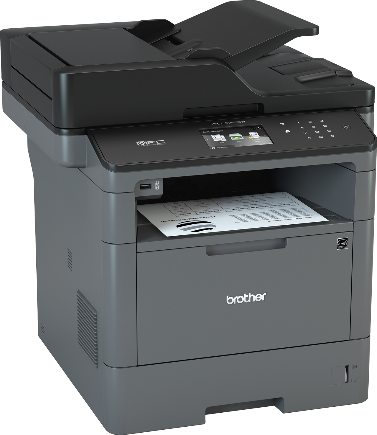 Brother MFCL5755DW Wireless Laser Multifunction Printer