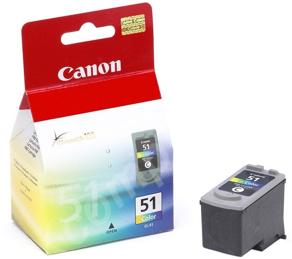 Canon CL51 330 Page High Yield Colour Ink Cartridge