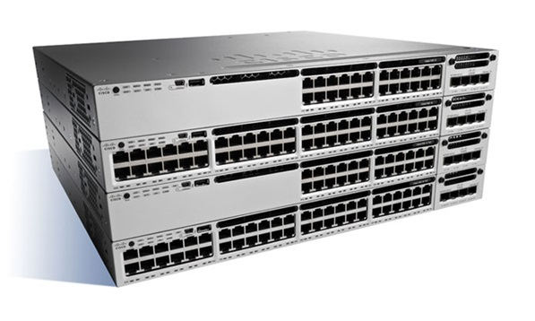 Cisco Catalyst 24 Ports Manageable Ethernet Switch POE+ 10/100/1000Base-T
