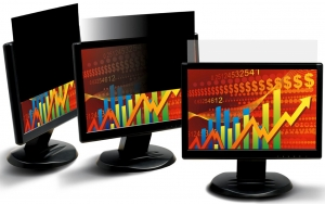 3M Privacy Screen Filter Black for 20.1inch Monitors