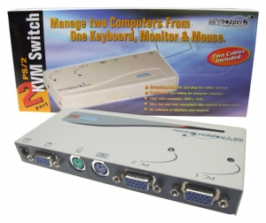 2 Port Entry Level PS/2 KVM Switch - 2 PC PS/2