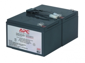 APC RBC6 Battery Unit 12 V DC Maintenance-free Lead Acid Hot-swappable