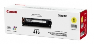 Canon CART416Y Yellow Toner Cartridge