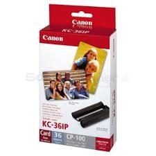 Canon Print KL-36IP Cartridge and Paper Kit