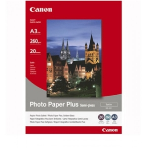 Canon SG201A3+ A3+ Semigloss Photo Paper 260GSM - 20 Pack