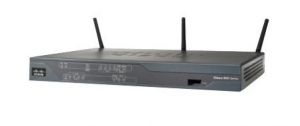 Cisco 881W Wireless Integrated Services Router IEEE 802.11n 3 x Antenna ISM Band 54Mbps 4 x Network & 1 x Broadband Port
