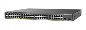 Cisco Catalyst 2960XR 48 Ports Manageable 12 x POE 12 x POE+ 24 x RJ-45 Switch