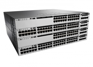 Cisco Catalyst C3850 24 x POE+ 10/100/1000Base-T Ports Manageable Layer 3 Switch