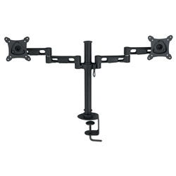 Digitus Monitor Swivel Arm Dual - Clamp Base 15-24Inch
