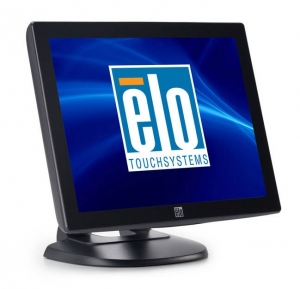 ELO 1715L 17Inch AccuTouch 5 Wire Resistive Serial USB Touch Monitor - Dark Grey