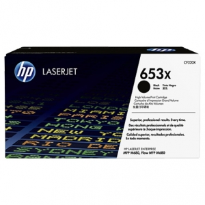 HP 653X Black LaserJet Toner Cartridge
