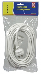 10M Power Extension Lead Supplied in Retail Packaging