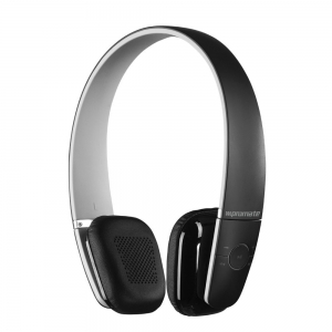 Promate Action Ultra Compact On-Ear Stereo Bluetooth Headphones - Black
