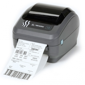 Zebra GK420D Direct Thermal Desktop Label Printer -  USB Serial Parallel