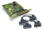 PCI Serial Card - 4 Port Incorporates 4 x DB9 Male Ports