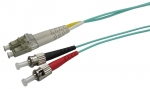 Dynamix 5M 50 micron OM3 LC to ST Fibre Patch Lead (Duplex, Multimode)