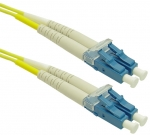Dynamix Single Mode 10M LC to LC Fibre Patch Lead. 9micron OS1