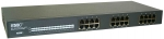 SMC 24 Port Fast Ethernet Unmanaged 10/100Mbps EZ Switch. Rackmountable and internal power supply