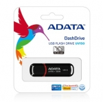 Adata Dashdrive UV150 USB3.0 32GB Flash Drive - Black
