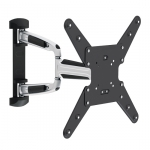 Brateck Aluminum Full-motion Wall Mount Bracket for 23-55 Inch Curved & Flat Panel TVs or Monitors - Up to 35kg