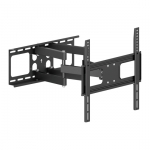 Brateck Economy Solid Articulating Wall Mount Bracket for 32-55 Inch Curved & Flat Panel TVs or Monitors - Up to 50kg