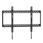 Brateck X-Large Heavy-duty Fixed Wall Mount Bracket for 60-100 Inch Curved & Flat Panel TVs or Monitors - Up to 100kg