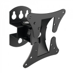 Brateck Economy Pivoting Wall Mount Bracket for 13-27 Inch Flat Panel TVs or Monitors - Up to 30kg