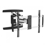 Brateck Solid Aluminum Full-motion Wall Mount Bracket for 37-70 Inch Flat Panel TVs or Monitors - Up to 50kg