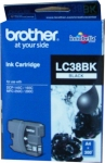 Brother LC38BK Black Ink Cartridge