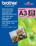 Brother BP60MA3 A3 Matte Inkjet Paper - 25 Sheets