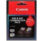 Canon PG640CL641CP Black and Tri-Colour Ink Cartridge - Combination Pack