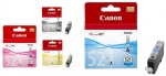 Canon CLI521MULTI Black/Cyan/Magenta/Yellow Ink Cartridge Multi Value Pack