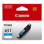 Canon CLI651C Standard Yield Cyan Cartridge