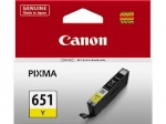 Canon CLI651Y Standard Yield Yellow Cartridge