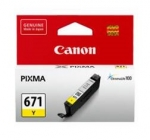 Canon CLI671Y Yellow Dye Cartridge
