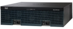 Cisco 3945 Integrated Services 3 Ports 17 Slots Rack-mountable Router