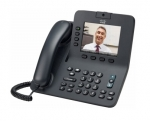 Cisco 8945 IP Phone VoIP Caller ID Speakerphone 2 x RJ45