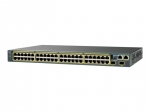 Cisco Catalyst 2960X 48 Ports 2 Expansion Slot 10/100/1000Base-T Manageable Ethernet Switch