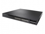 Cisco Catalyst 3650-24P 24 Port Layer 2 PoE+ 10/100/1000Base-T Managed Switch + 4 SFP