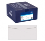 Croxley DLE Non-Window Tropical Seal White Envelope - 500 Pack