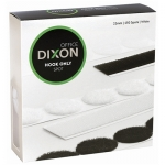 Dixon Hook Only 22mm White Velcro Spots - 450 Pack
