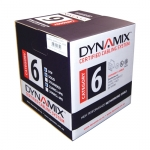 DYNAMIX 305M Cat6 White UTP STRANDE Cable Roll. 550MHz, 24 AWGx4P, PVC Jacket. Supplied in a Reel Box