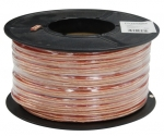 Dynamix 100M 16AWG/1.31mm2, OFC 25/0.25BC x 2 Core Speaker Cable