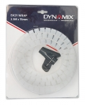 Dynamix 2.5 Meter x 15 mm Easy Wrap - Cable Management Solution, Clear Colour
