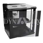 Dynamix 12RU 600mm Deep Universal Swing Wall Mount Cabinet - Removable Backmount (600x600x635mm)