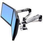 Ergotron LX Dual Side-by-Side Arm Desk Mount