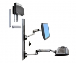 Ergotron LX Wall Mount System - Small CPU Holder