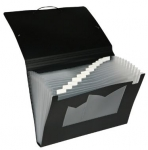 File Master A4 ECO Expanding File with 13 Pockets